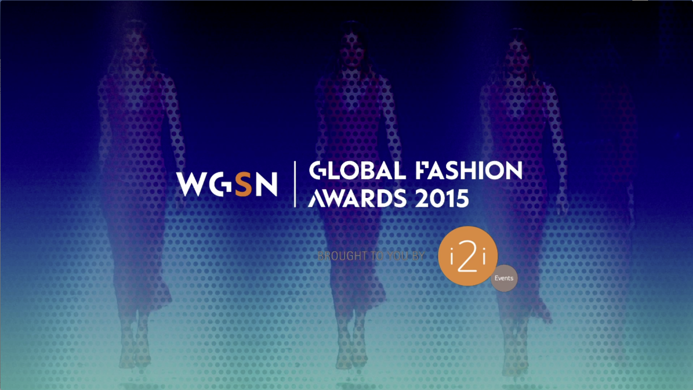 WGSN Fashion Awards video content