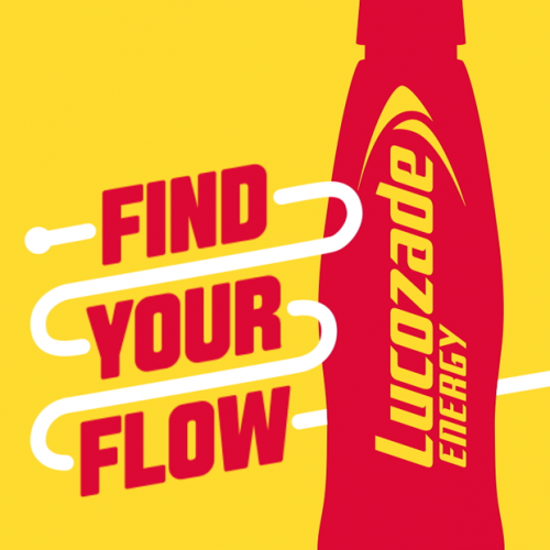 Lucozade social media video content production post production logo animation