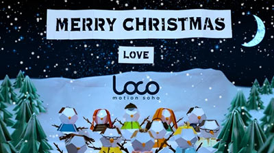 Loco Production and Post Production let's co-create stop motion animation christmas