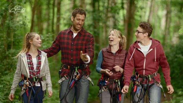 TV Commercial production post production Go Ape outdoor adventure