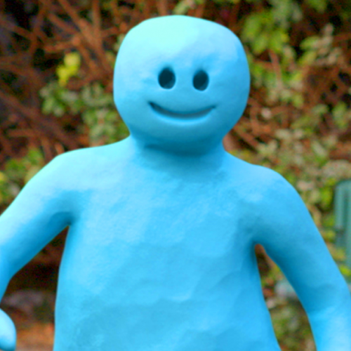 3D CGI claymation style animated character commercial
