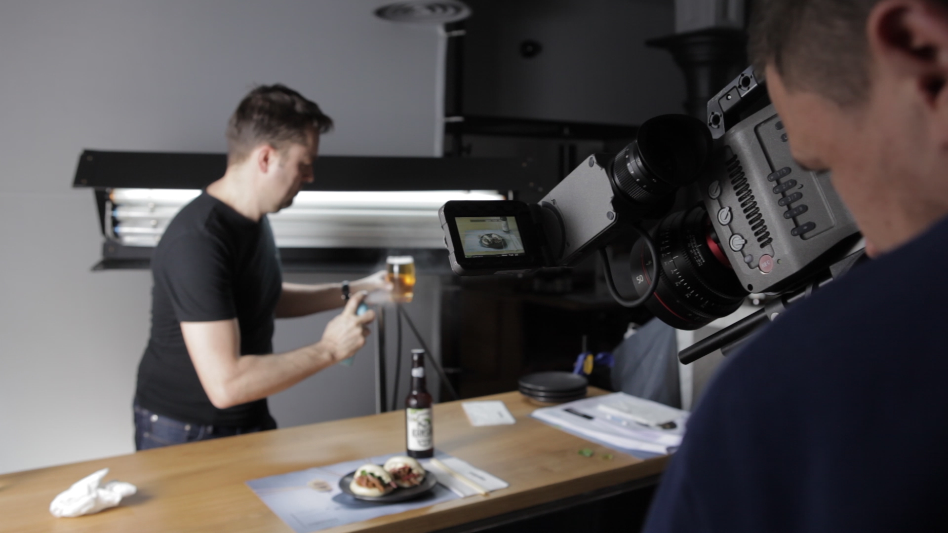 wagamama video content production